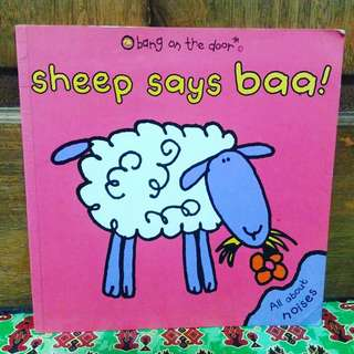 Sheep says baa (all about noises)