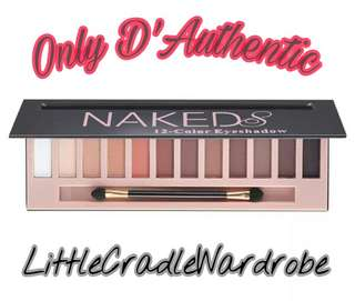 Naked 12 Colors Eyeshadow Palette Sombras