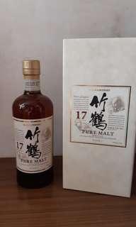 竹鶴 17 whisky