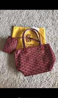 Goyar* mini tote bag discount