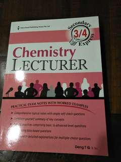 Pure Chemistry Lecturer