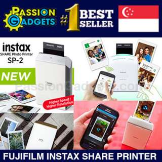 [fuji film]♥Singapore Local Warranty♥ Fujifilm INSTAX SHARE Photo Printer SP-1 SP-2 Mobile INSTANT Polaroid
