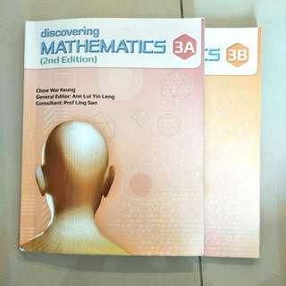 Discovering Mathematics 3A / 3B (2nd edition) textbook