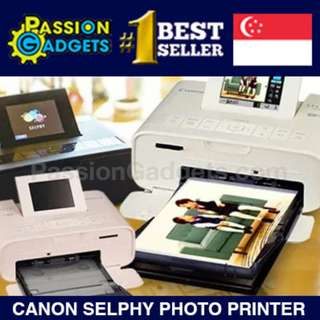 💖LOCAL WARRANTY!💖LATEST! CANON SELPHY CP1300 Portable Color Photo Printer Instant Print