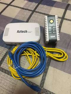 Aztech Homeplug AV HL110E 200Mbps & HL125G 500Mbps
