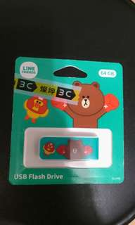 On SaleLine熊大USB贈品