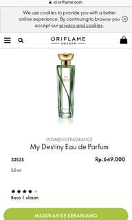 🔥SALE🔥My Destiny Eau de Parfum
