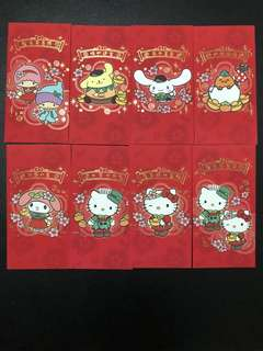 Red Packets Sanrio characters