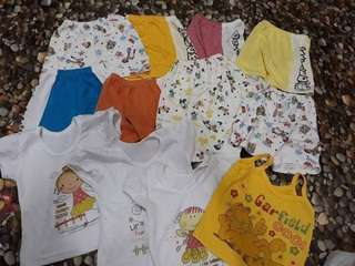 Take all..for girls stuff 7 months to 2 years old