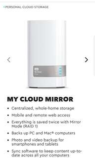 BNIB Western digital my cloud 12tb