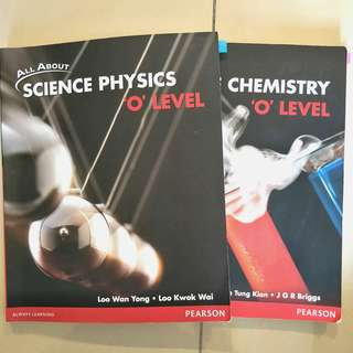 All About Science Physics & Chemistry O Level Textbooks (Combined) Pearson