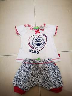 Elmo Set Baby