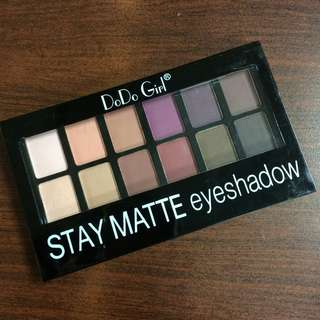 Dodo Girl Staymatte Eyeshadow Palette