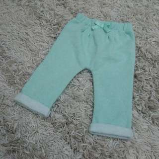 Mint Green Jogger Pajama Pants size 0-3months