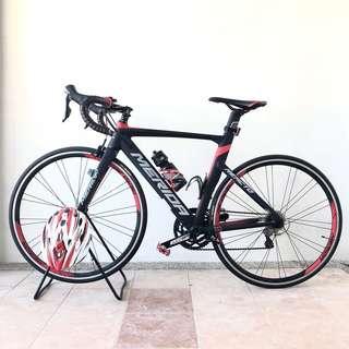 Merida road bike RED