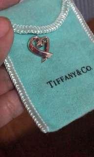 Authentic Tiffany Heart pendant