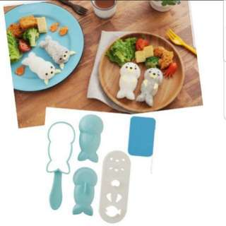 Seal Rice Mould Set