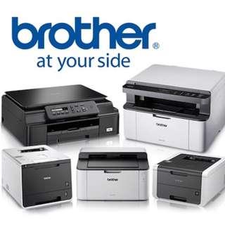 Brother DCP-L2535DW DCP-L2550DW MFC-2740DW Wireless Laser Printer Print scan copy Mono Laser Fax