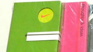 Sealed Notebooks brand new