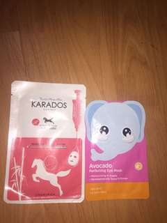 PAKET!karados horse oil and eye mask avocado