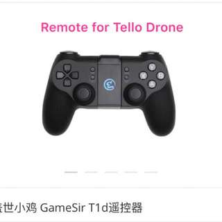 Remote for Tello 搖控 DJI #GameSirT1d #蓋世小雞