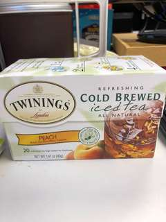 Twinings Cold Brewed Iced Black Tea with Peach Flavour 蜜桃茶