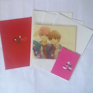 HunHan - When I Found You - mini photobook - posters - mouse pad photocards photo card notebook - luhan sehun