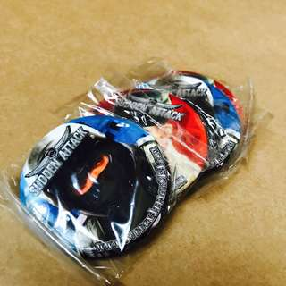 WTS Sudden Attack Badges