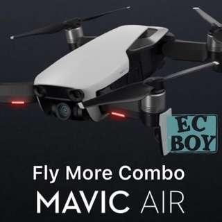 全新 行貨 DJI Mavic Air Fly More Combo #drone #航拍 #無人機 #4k #高清 #搖控 #飛機