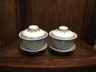 米通茶盅兩個(全新)