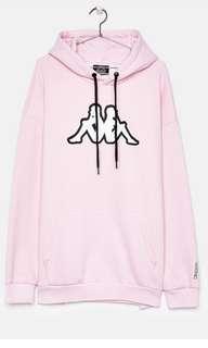 Kappa hoodie baby pink