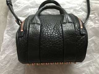 Alexander Wang Rockie leather bag black handbag