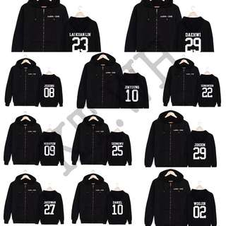 WANNA ONE HOODIE JACKET