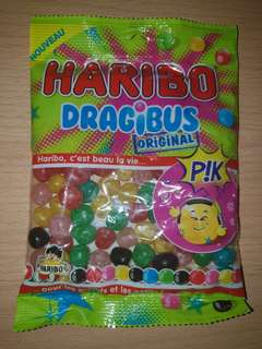 French Candy, Haribo, Dragibus Pik.