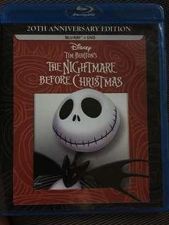 DISNEY THE NIGHTMARE BEFORE CHRISTMAS BLURAY BLU-RAY