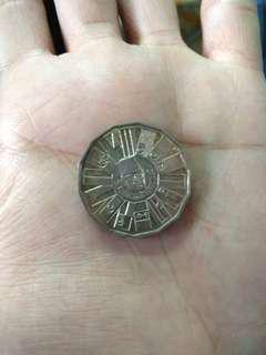 Duit syiling 10 ringgit Rancangan Malaysia Ke3