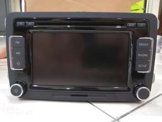 VolksWegan Passat B7 in car audio Player