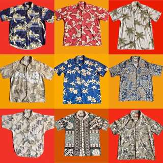 Vintage Hawaiian Polo/Button downs 300-500