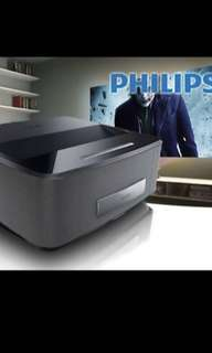 新淨極少用 Philips HDP1590 3D Projector 短距投影機 #Philips #飛利普 #HD #1590 #Projector #短投 #投影機 #高清 #android #安卓 #Wi Fi #mira #cast #鏡 #vga #hdmi #usb #3D