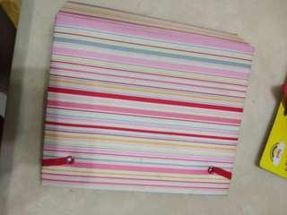 🚚 粉色系條紋相簿