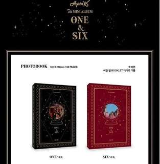 APINK 7TH MINI ALBUM - ONE&SIX