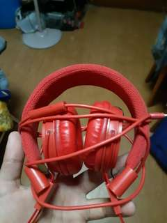 Headphones (red colour)