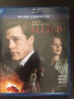 ALLIED BLU RAY NEW BLU-RAY