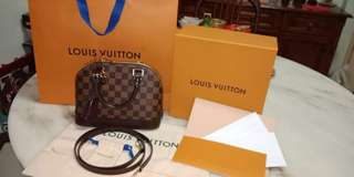 Authentic Louis Vuitton Alma BB