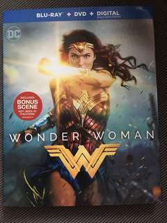 WONDER WOMAN BLU RAY WITH SLIPCASE BLURAY