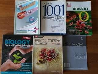 O lvl Bio Text/Assessment Books