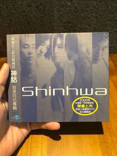 CD + VCD Musik Lagu Korea - Shinhwa - Limited collector edition