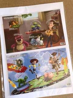 Toy Story 中華民國郵票