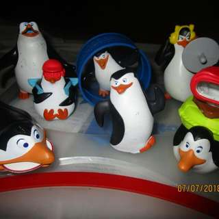 Mcdo Happy Meal Penguins Of Madagascar