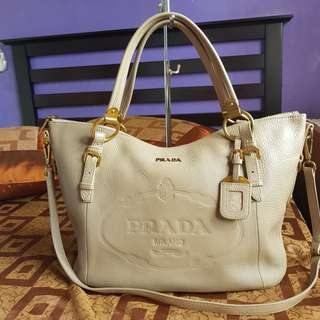 Authentic 2 way prada bag